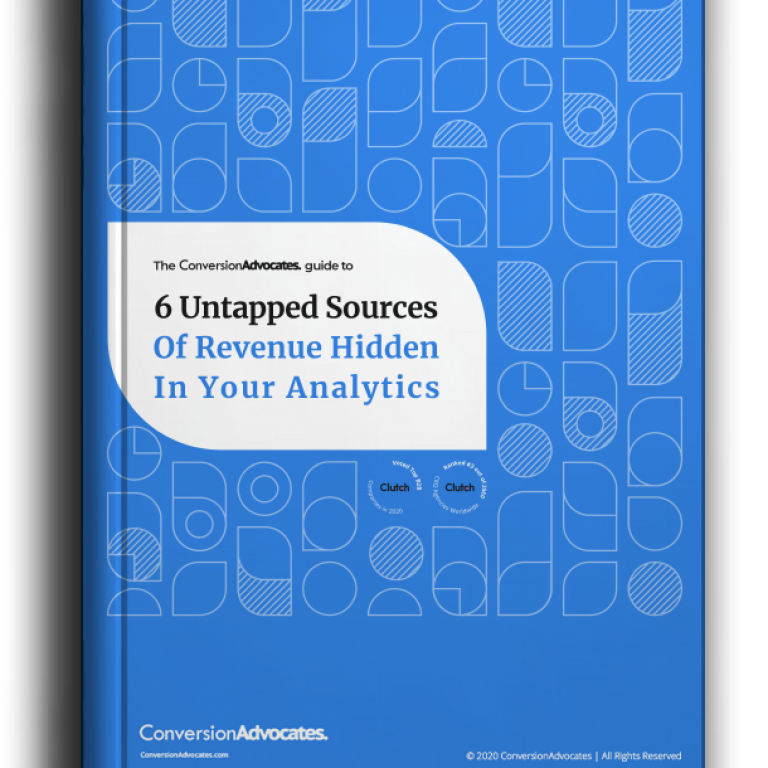 Guide Download | 6 Untapped Sources Of Revenue Hidden In Your Analytics