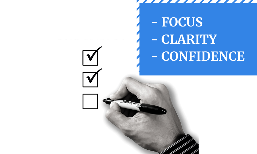 Lack of focus, clarity, and confidence are the top 3 problems that could cost you your business unless you tackle them efficiently.