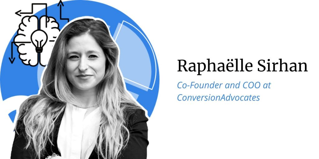 Raphaelle Sirhan, Co-Founder and COO at ConversionAdvocates, Q&A with ConversionAdvocates on the topic of opportunities, threats, predictions for Black Friday and Cyber Monday 2020