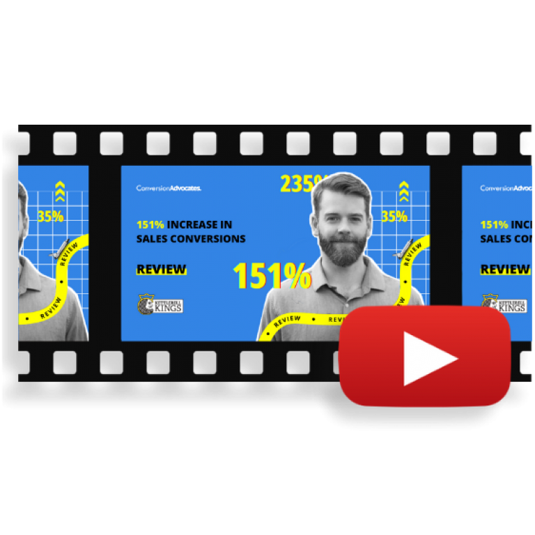 ConversionAdvocates Increased Sales Conversion Rates by 151% in a Single Experiment  | Review By Kettlebell Kings