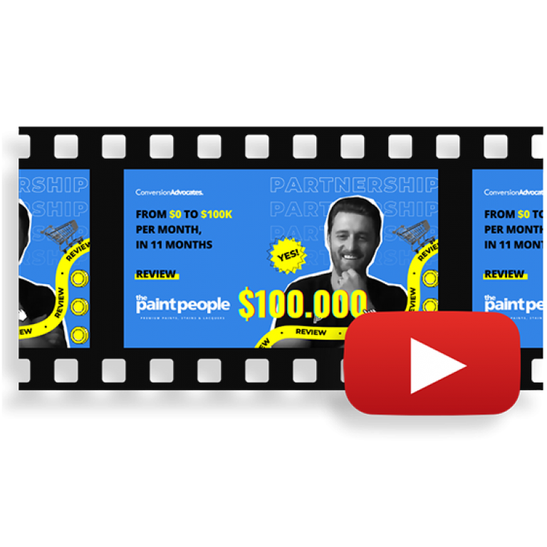 ConversionAdvocates Review | From $0 to $100K per Month | The Paint People